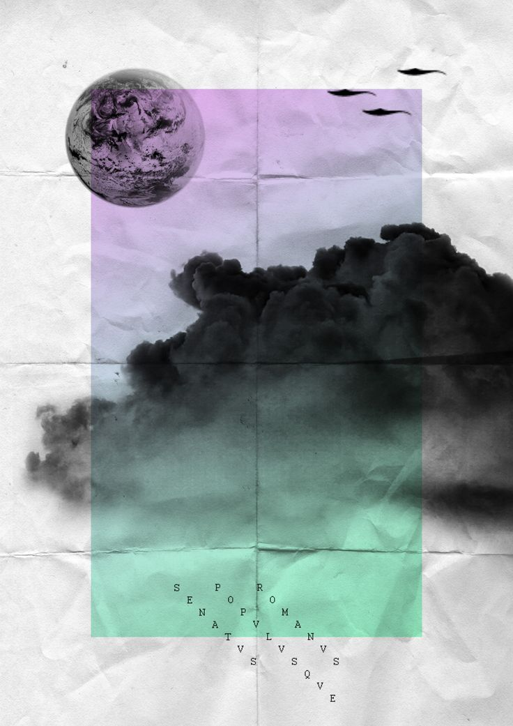 moon and dark clouds