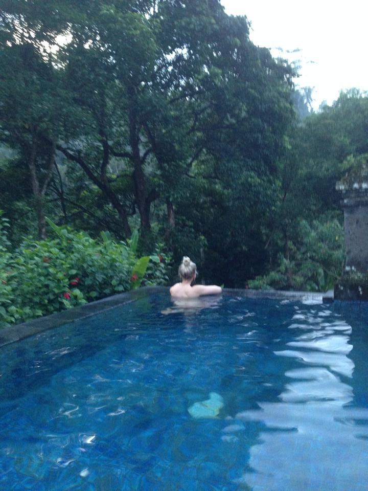 Our personal pool in our villa at Puri Wulundari in Ubud.