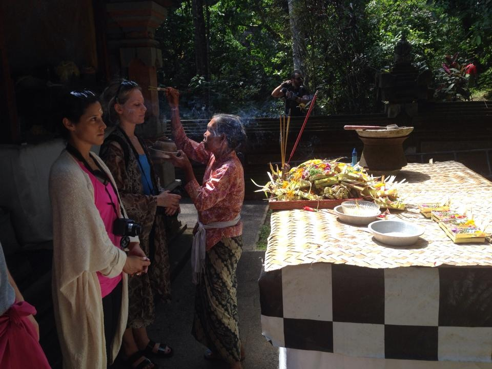Biga Hindu Blessing.