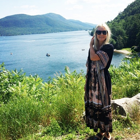 going places: lake george