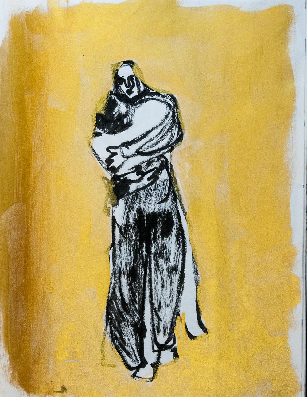 Envelope Painting by Giorgia Madiai Fuchs
