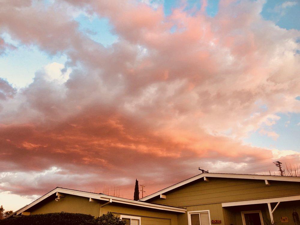 Sunset in Redlands, California
