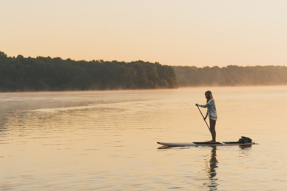 Sunrise SUP session