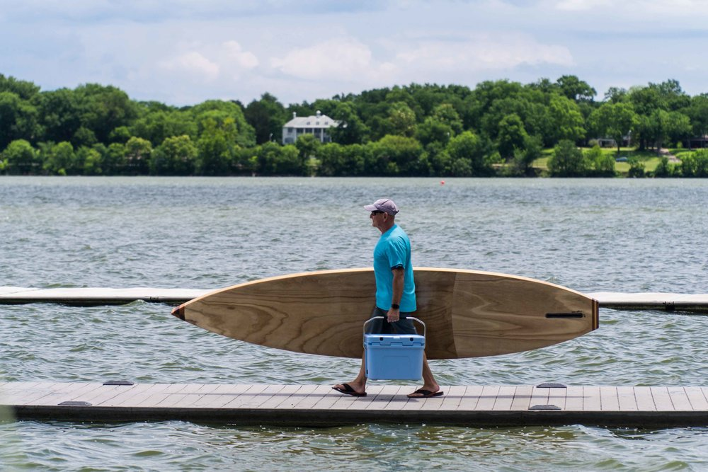 Wooden Paddleboard