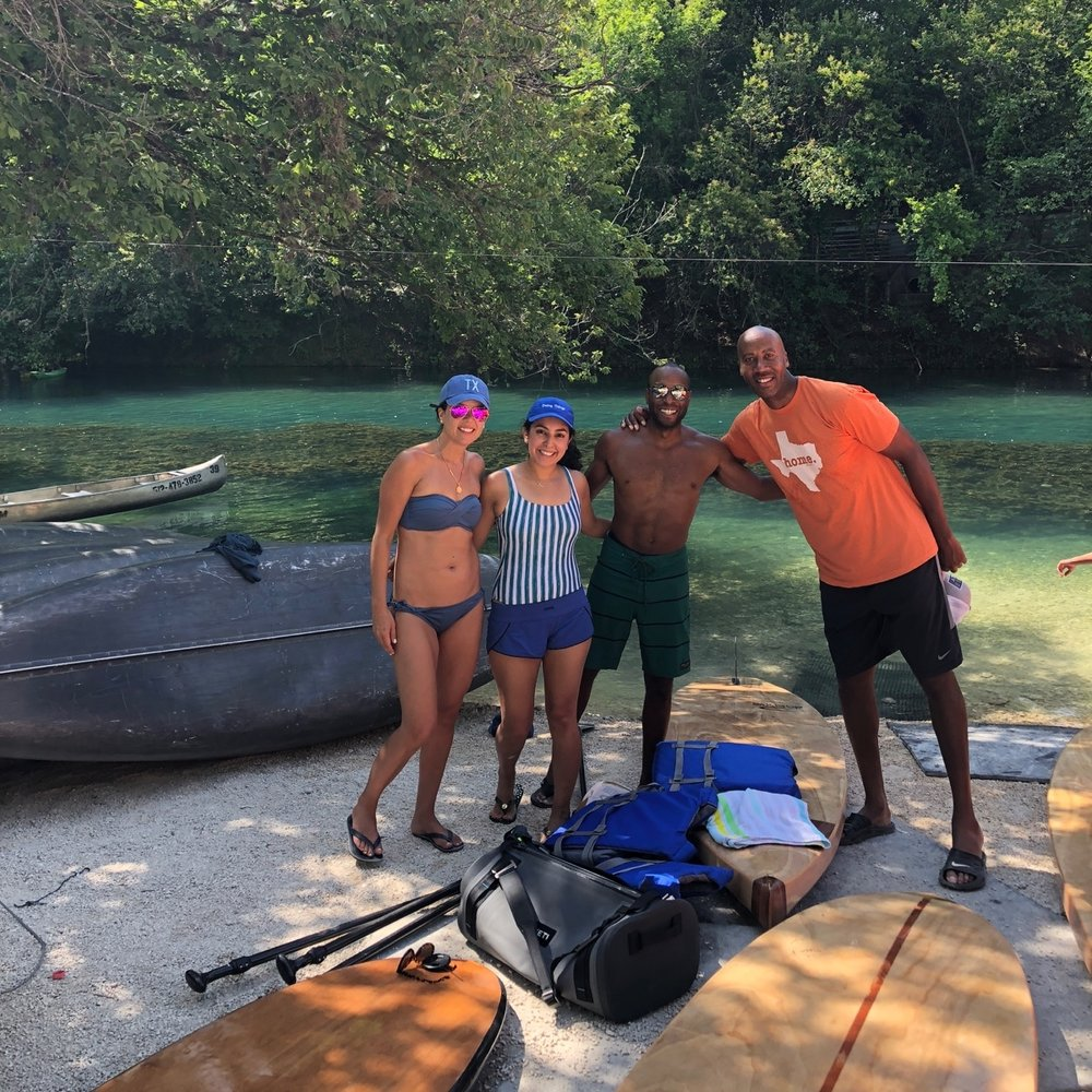 Paddle Boarding with Bruce Bowen