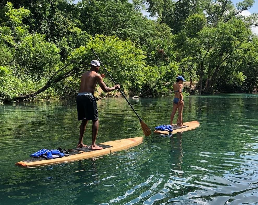 PaddleBoarding in Austin TX