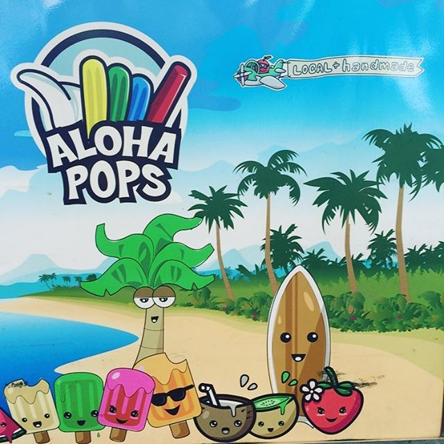 It's a beautiful day at Keiki Con Mililani. Grab a frozen one! #AlohaPops #mta4life #keikicon