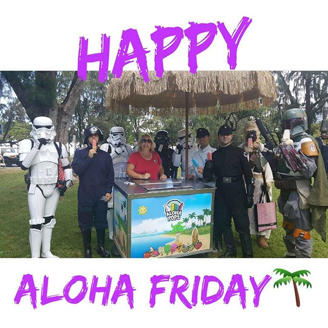 Happy Aloha Friday! #MayTheForceBeWithYou