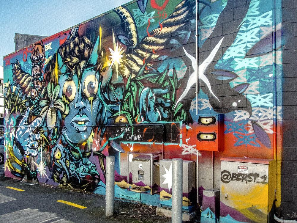 Nuffield Lane Street Art -