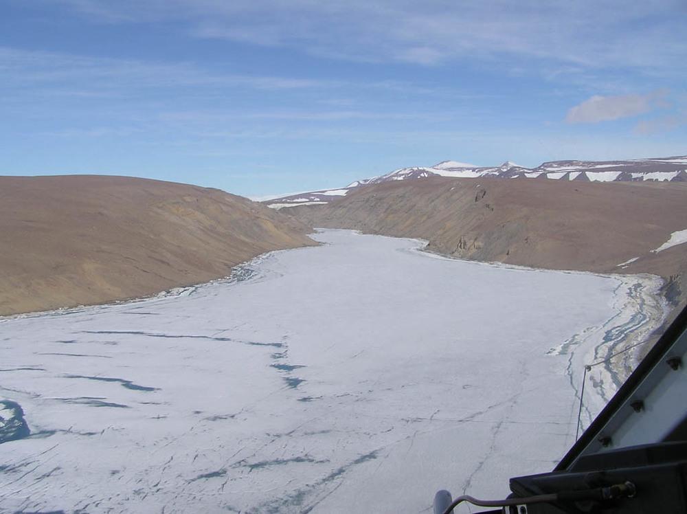 The Battye Glacier