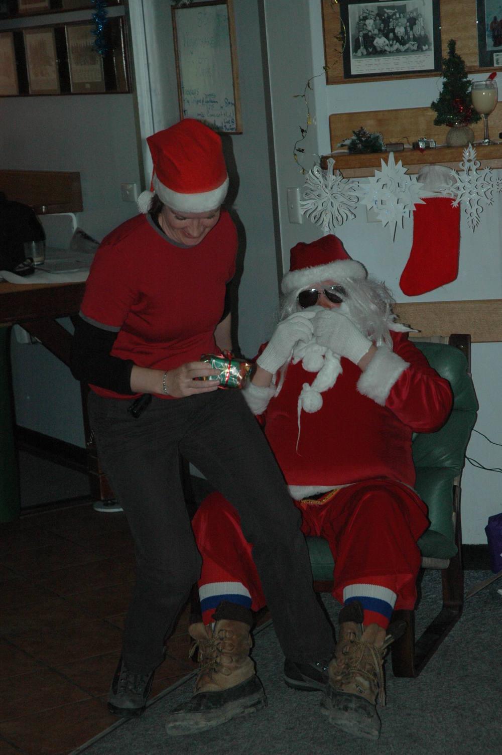 I get a present from Santa