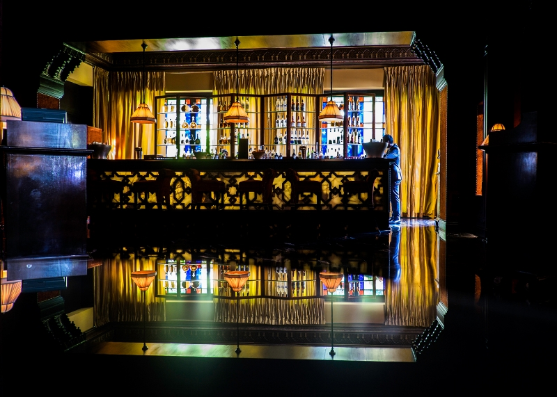 La Mamounia-Bar-Art Deco-Marrakech