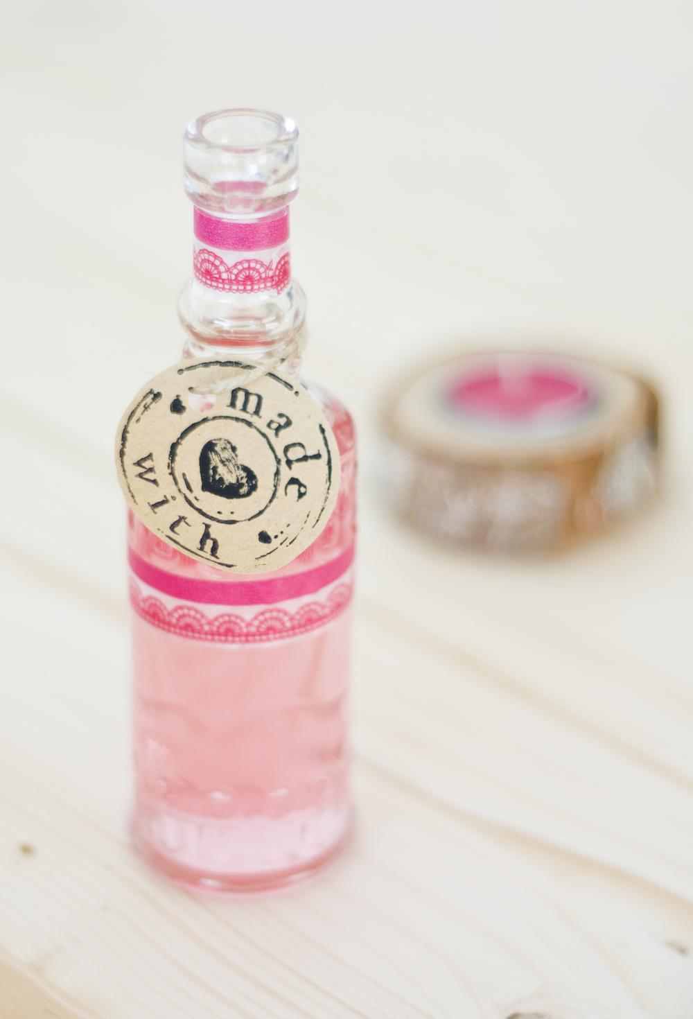 pinkfarbene Limonade