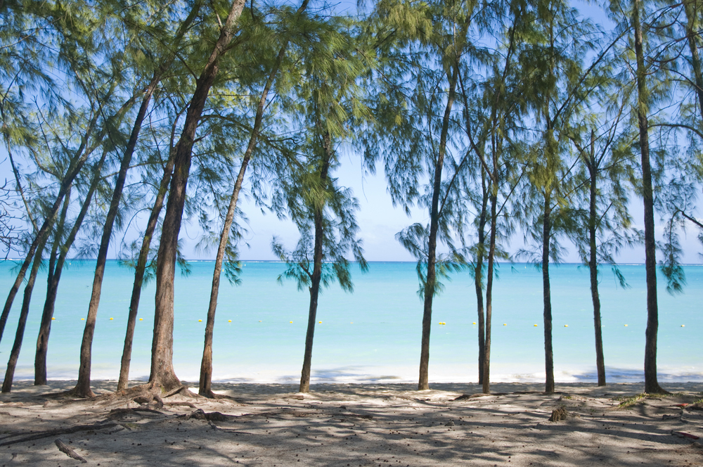 Public Beach in Mont Choisy, Mauritius