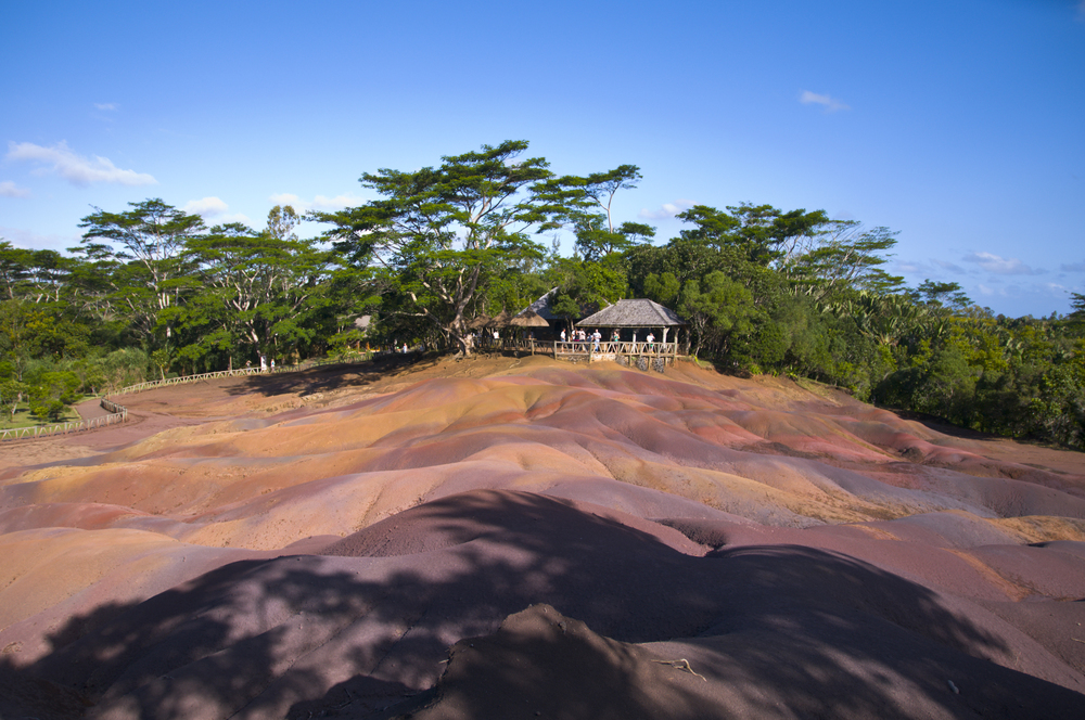 7 Colored Earth in Chamarel