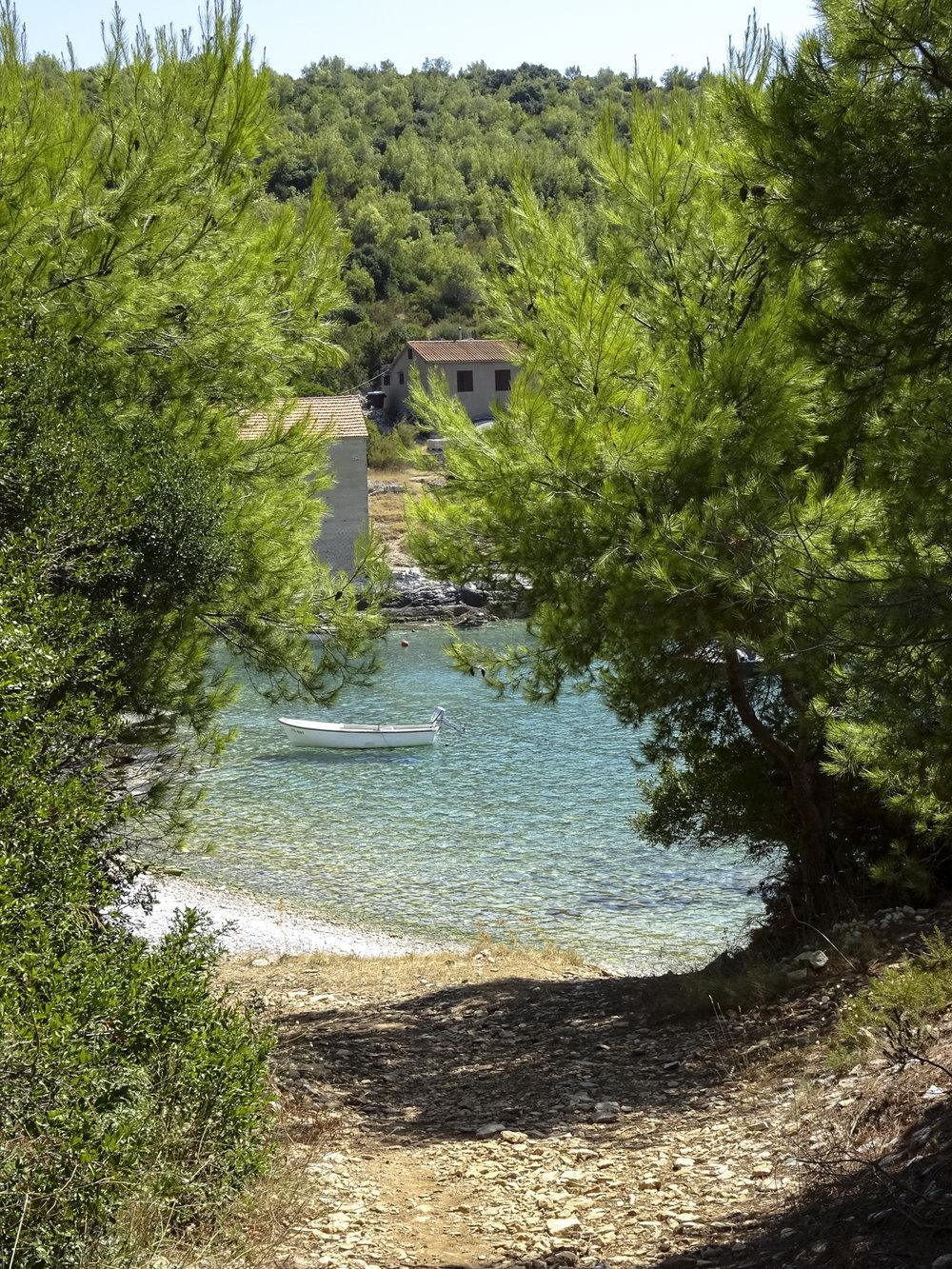 Badebucht Vela Trovna (Insel Vis)