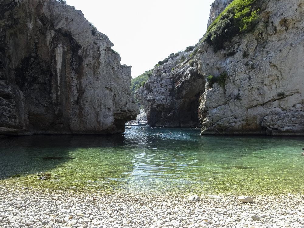 Badebucht Stiniva (Insel Vis)