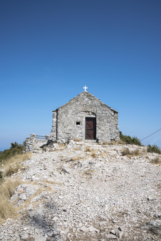 Kapelle am Berg Hum (Insel Vis)