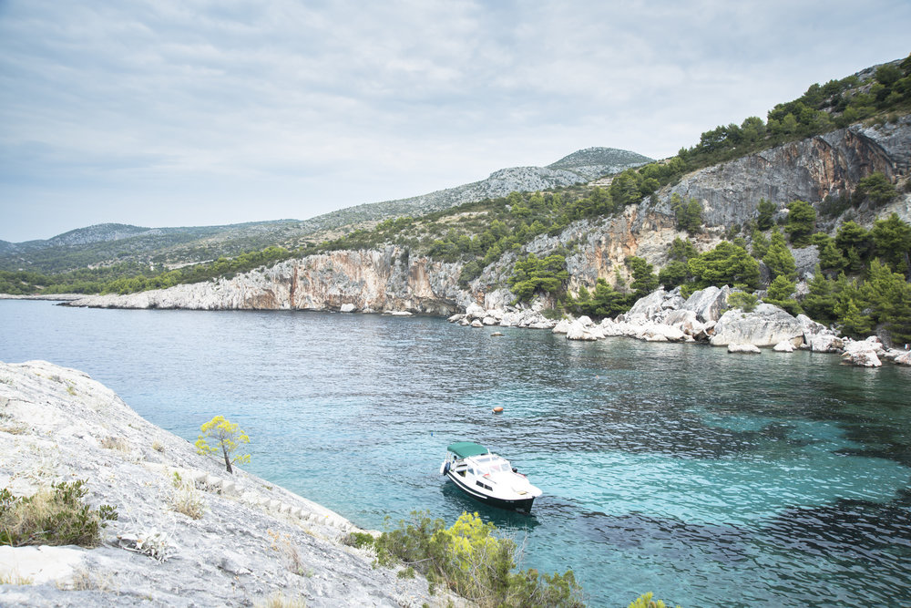 Bucht bei Zarace (Insel Hvar)