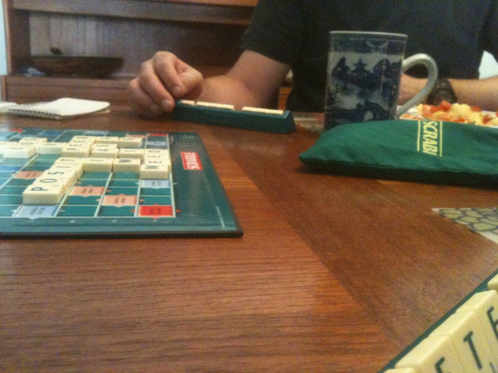 Scrabble brunch