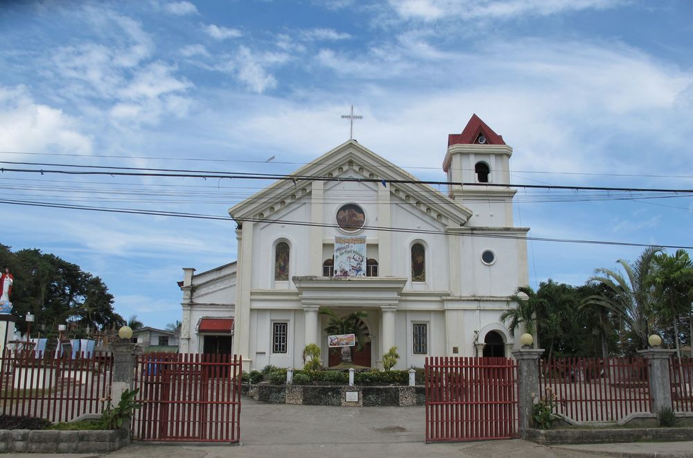 A picture I snapped of St. Michael Parish Church, Bohol, one day before the earthquake that destroyed it.