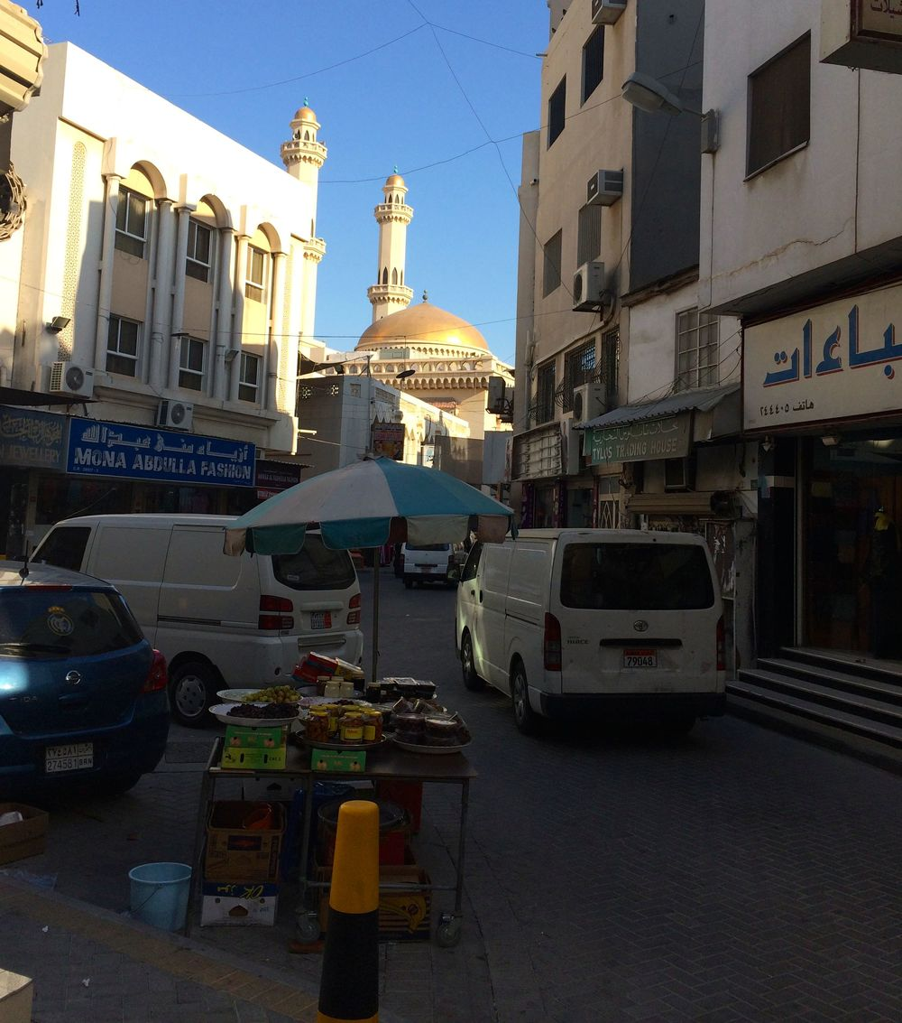 Food stall in the souq neighborhood