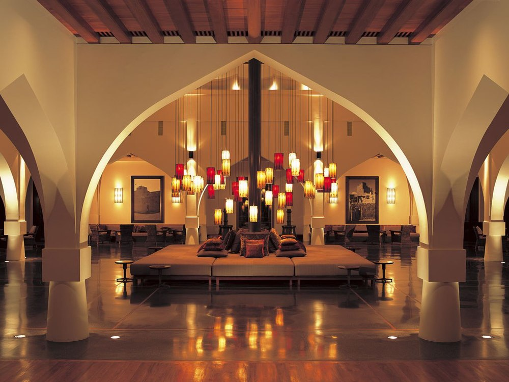 The Chedi lobby (photo courtesy of  Conde Nast Traveller)