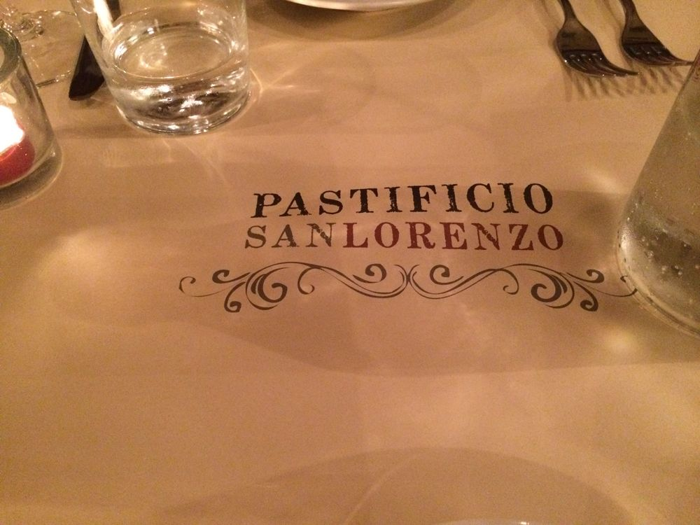 Pastificio in the San Lorenzo neighborhood