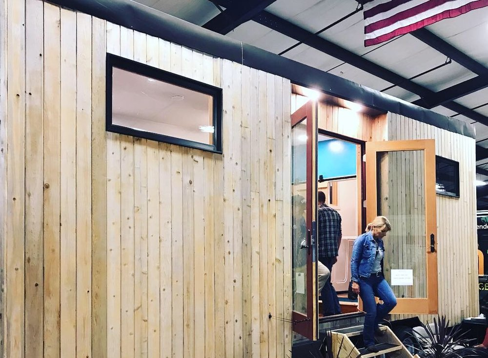 KT Ehrlinger's weirdly spacious tiny house