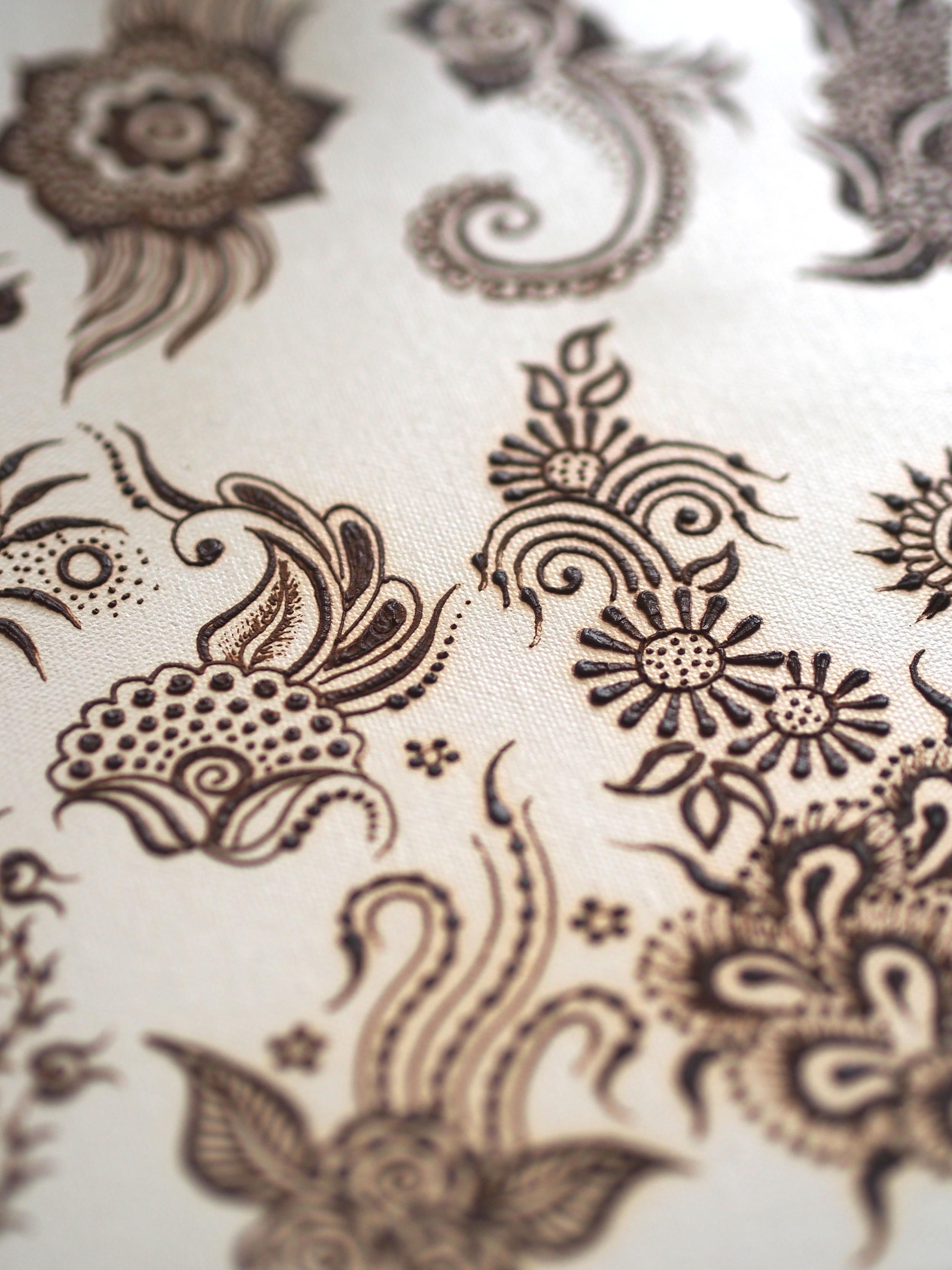 Gambar Terbaru Henna Bunga Mawar Sayang Dilewatkan Teknik
