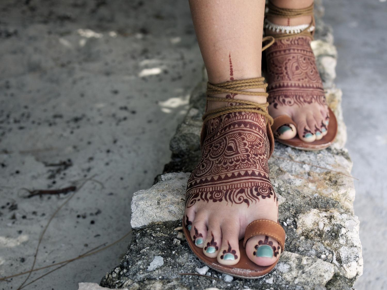 Mehndi Ankle Instagram : Tutorials & recipes u2014 henna guru