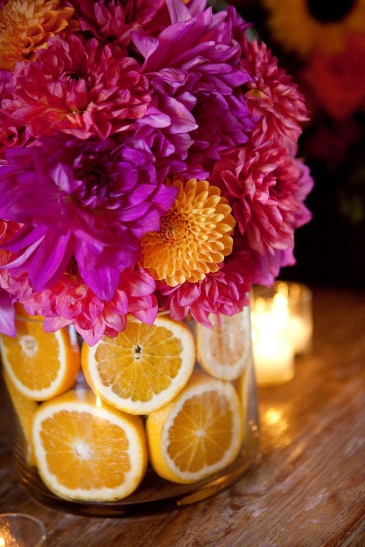 crisantemi e limoni
