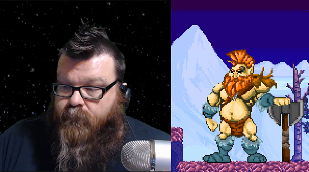 Here's the original sprite alongside his likeness, the Twitch Streamer known as Indie...