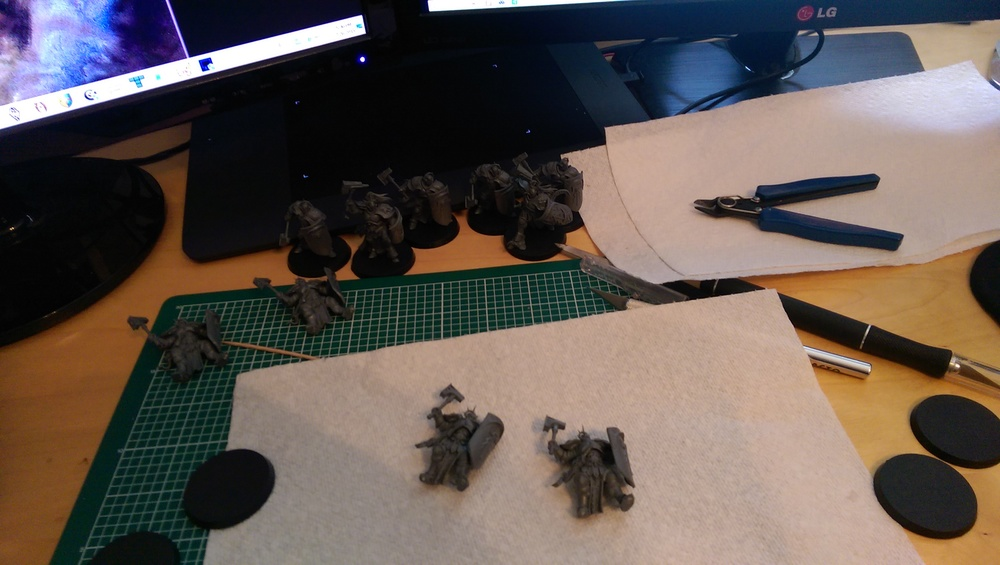 Putting together the Liberators...