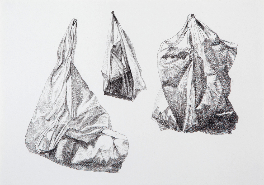 Bag Study after Durer