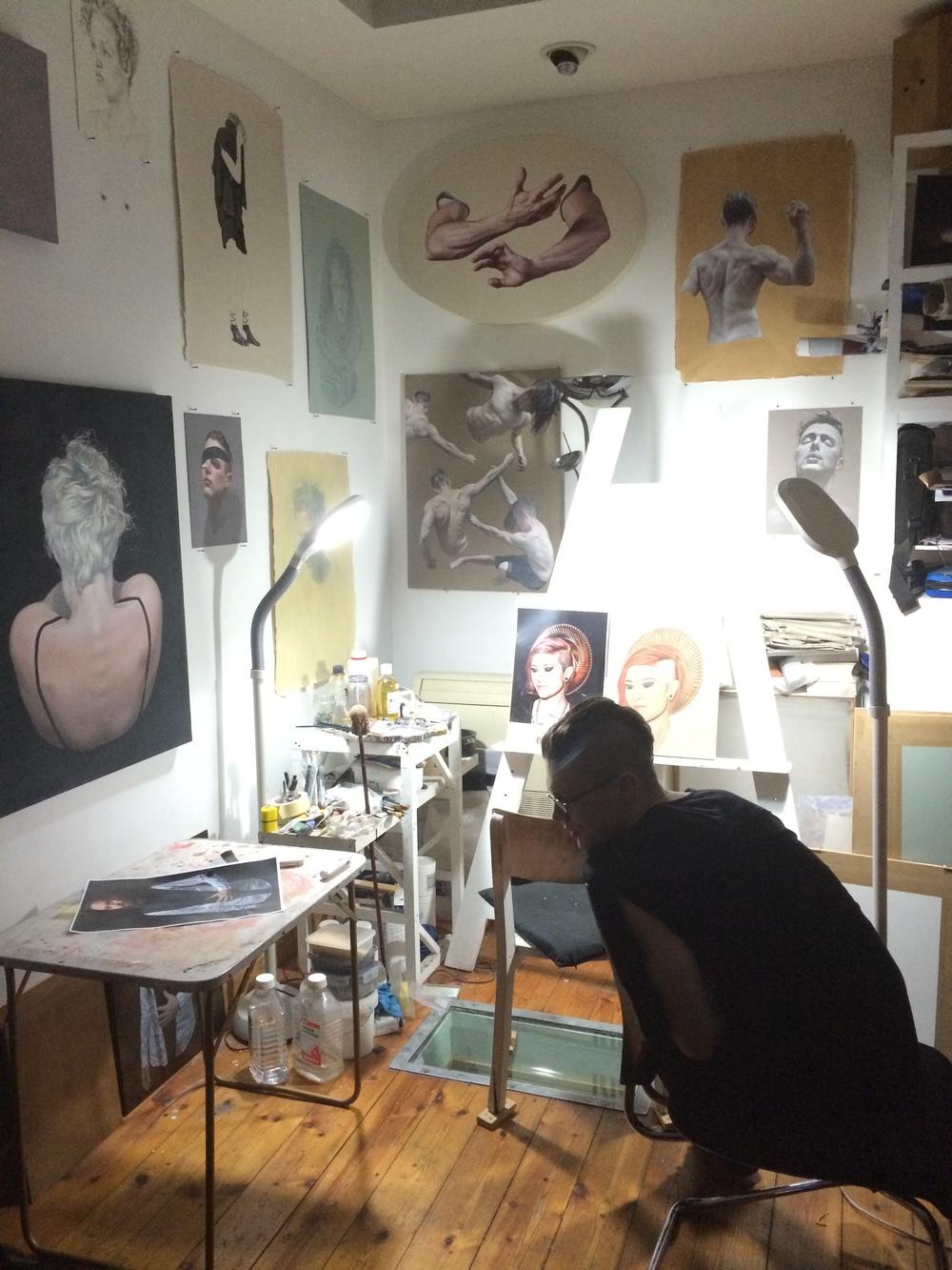 Ben Ashton, Studio