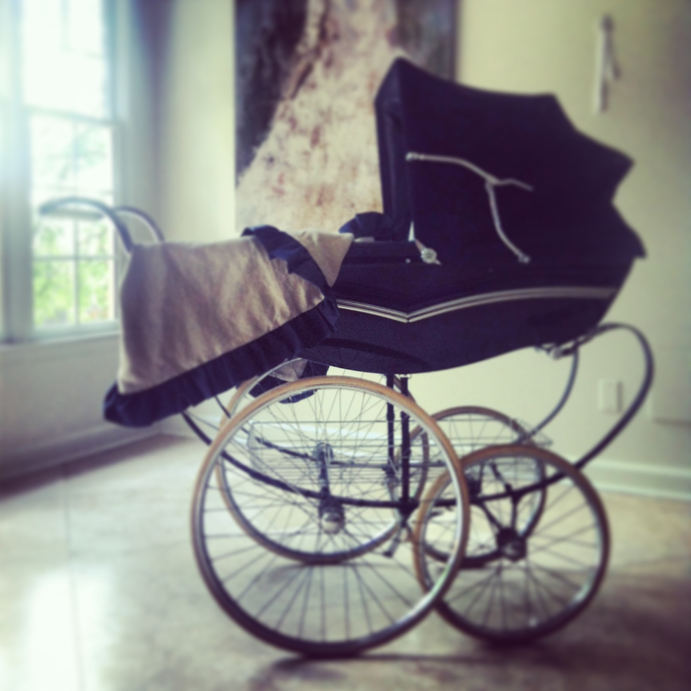 Instagram photo - BABY BLEU Pram blanket