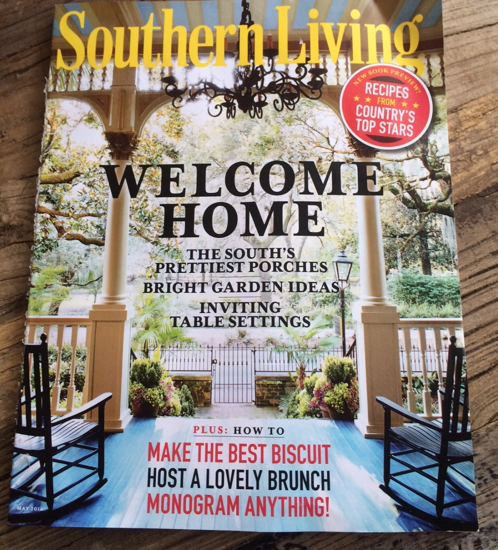 Southern Living Magazine May 2014
