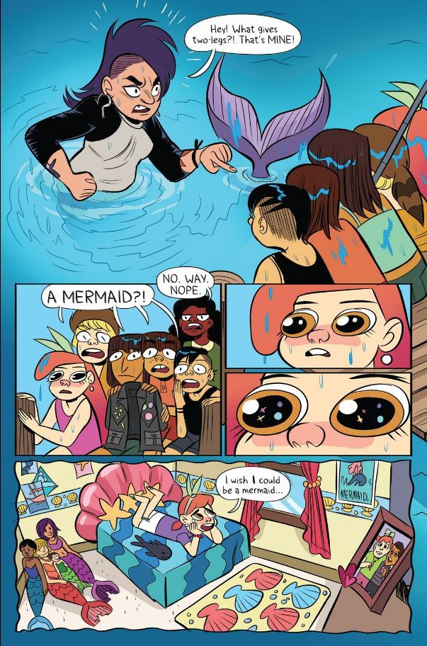 You should definitely be reading Lumberjanes if you're not already, btw.
