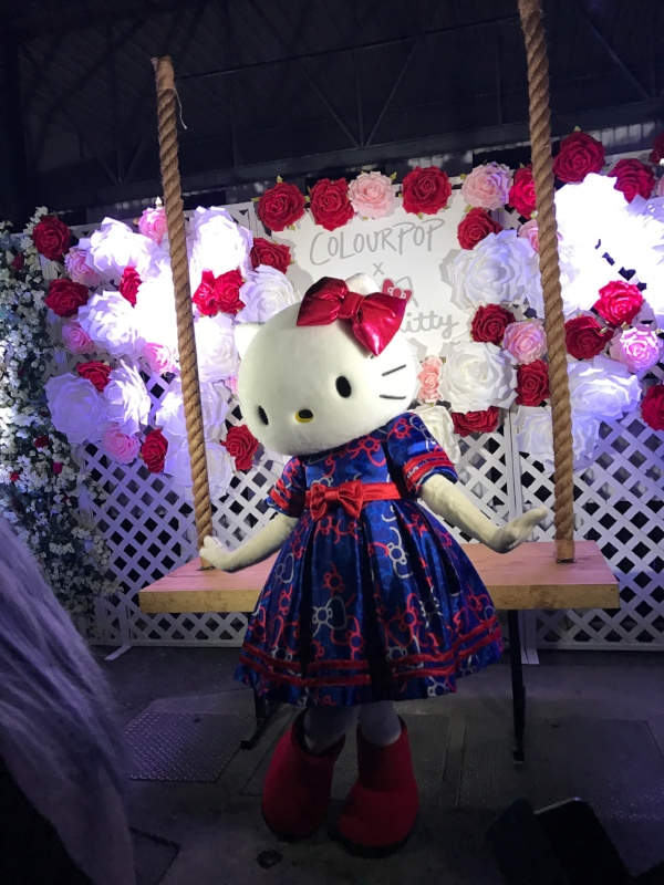 I met freaking Hello Kitty last night. I can't get over it.