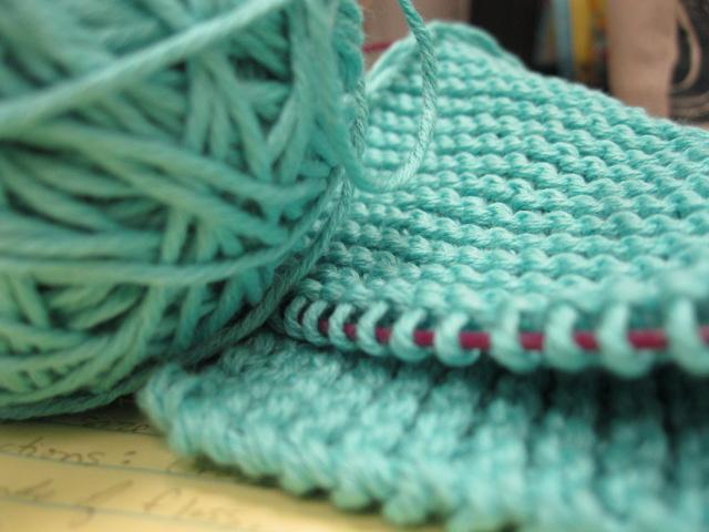 garter stitch @sneezerville