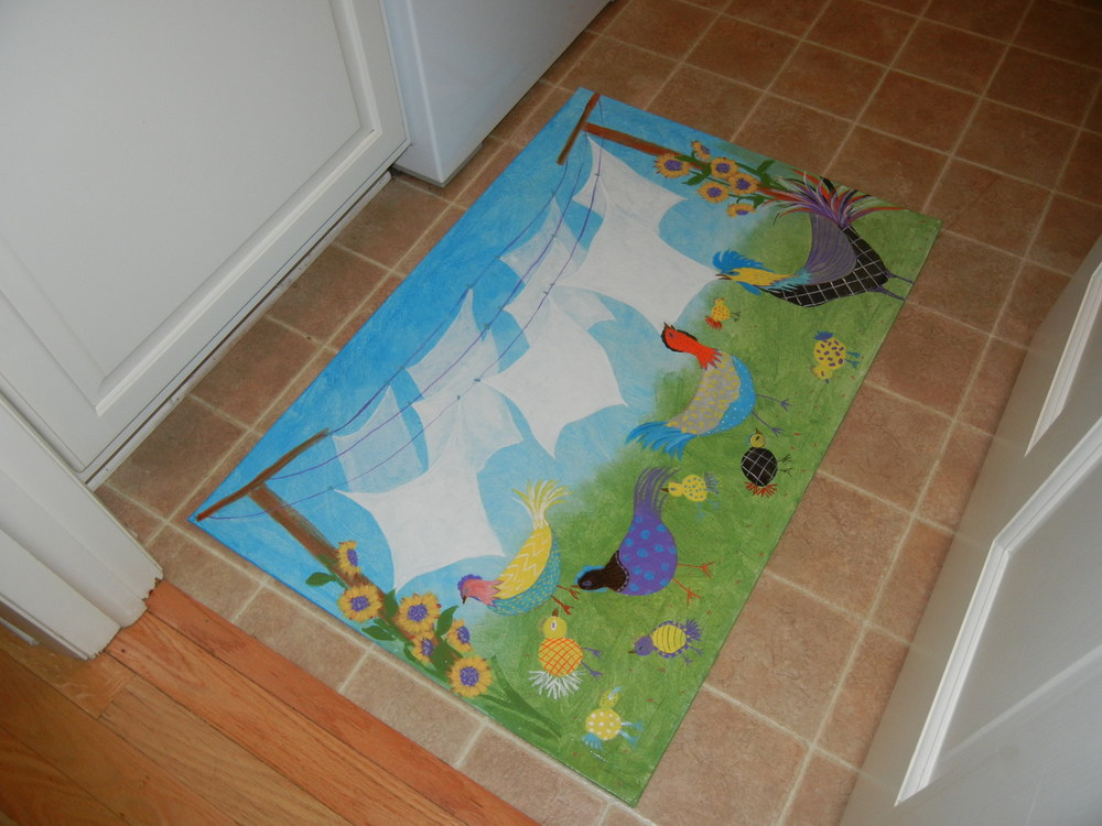 Laundry Room mat  2x3'
