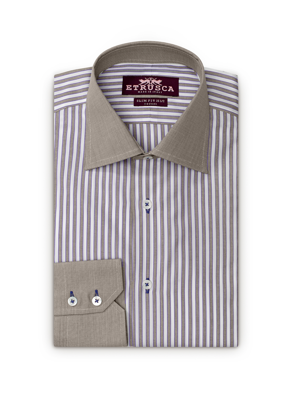Etrusca-Collezione-Tre-Giorno-Brown-Purple-Stripes-Brown-Collar-Cuff-Folded-001-HR.jpg