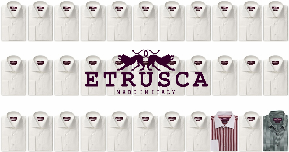 ETRUSCA Shirts Made in Italy