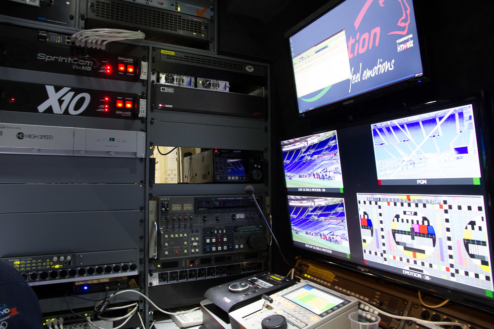 Inside the Cinevideo OB Van