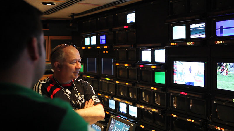 José-Manuel Marino, Director of the News and Sports Engineering Division, TV Globo