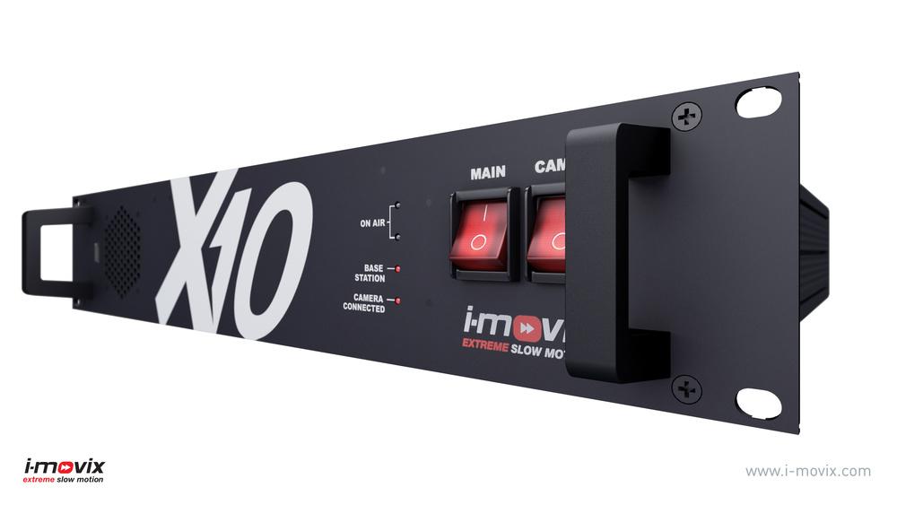 X10 CCU, Front Panel