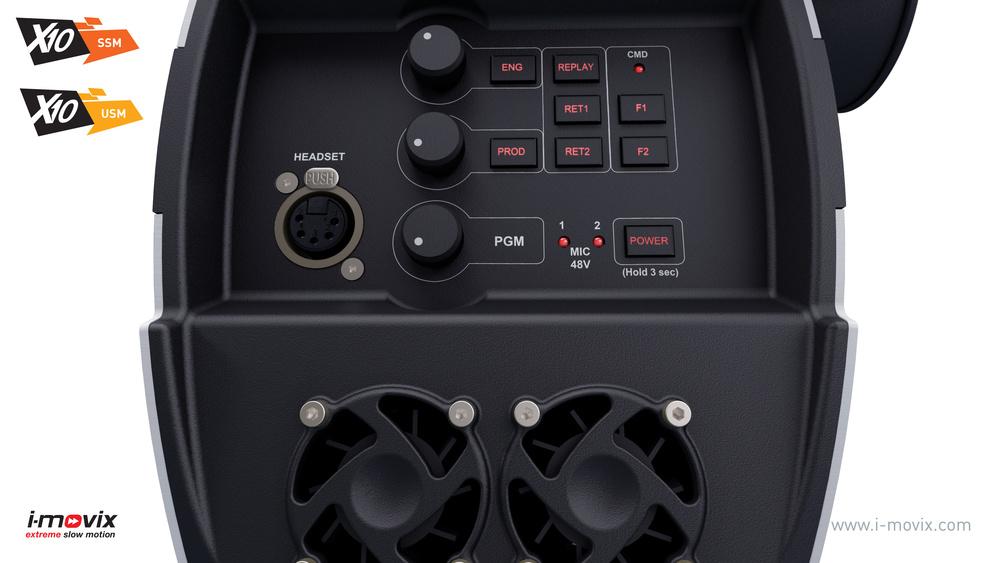X10 Camera - Back Panel
