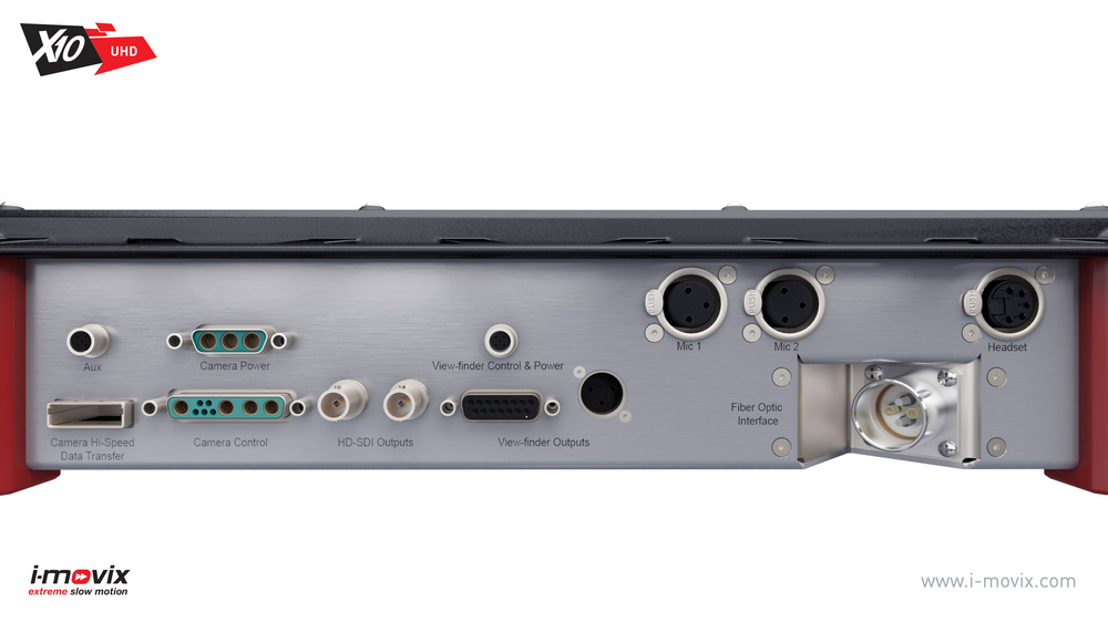 X10 UHD, the Camera Box, Connectivity