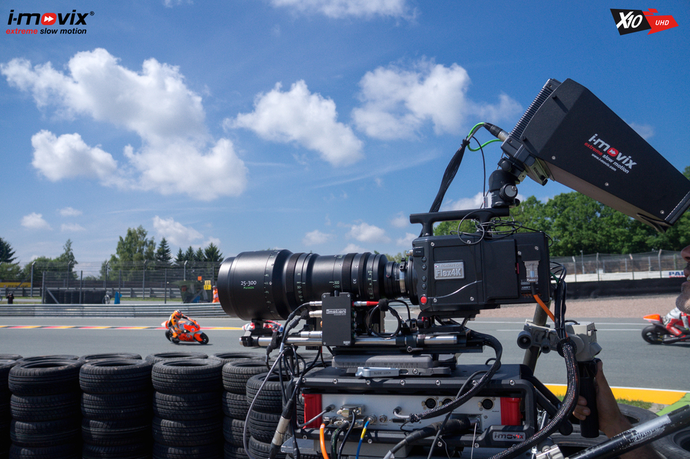 X10 UHD in action at MotoGP